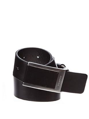 Springfield Cinturón Piel Chapón Forrado (negro)