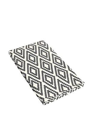 Glam Home Teppich Nirmal weiß/grau