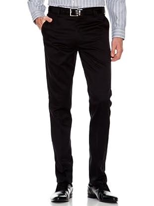 Dockers Pantalón Ajustado Vestir (negro)