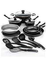 Farberware 17-Piece Cookware Set; Includes Prestige Kitchen Tools