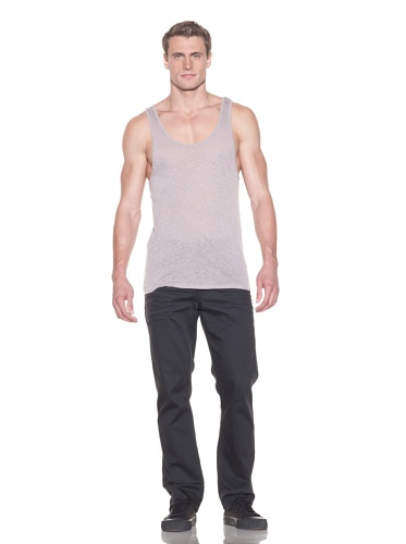Drifter Men's Jared Speckled Basic Tank (Fawn)
