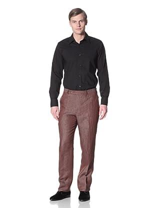Hart Schaffner Marx Men's Trouser (Red)
