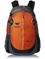 Wildcraft Nylon 41 ltrs Orange Backpack (Black Hole 2_Orange)