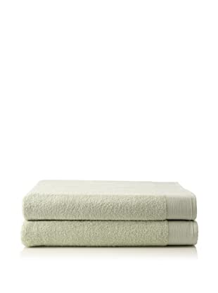 Schlossberg Sensitive 2 Piece Bath Sheet Set (Jade)