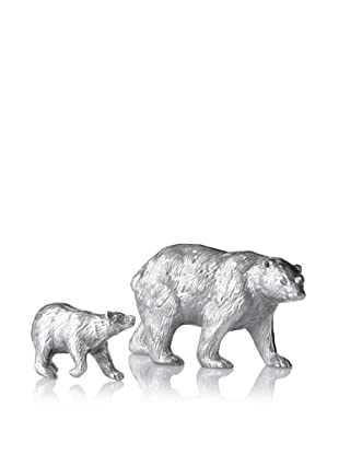The HomePort Collection Set of 2 Kodiak Bears