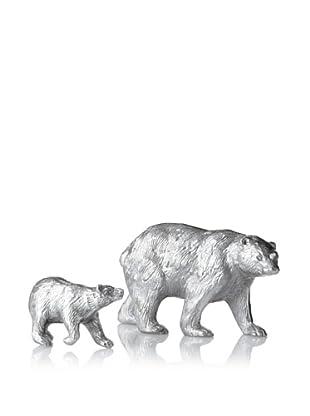 The HomePort Collection Set of 2 Kodiak Bears