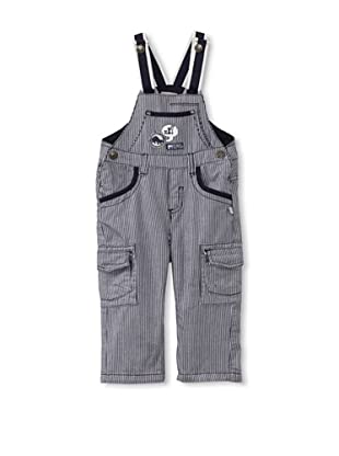 KANZ Baby Striped Overalls