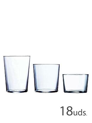 Luminarc Juego 18 Vasos Modelo Gorbea