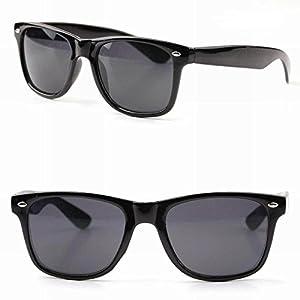 Sigma Wayfarer Black Sunglasses (L018)