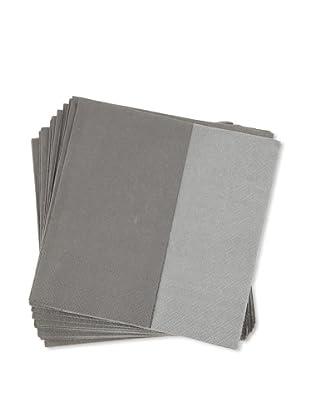Villeroy & Boch 1 Pack Servilletas de papel gris