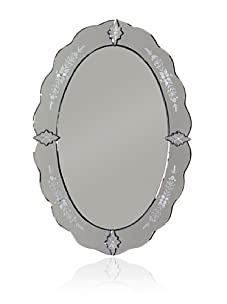 Curvy Venetian Mirror