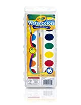 Crayola Washable Watercolors (16 Count)