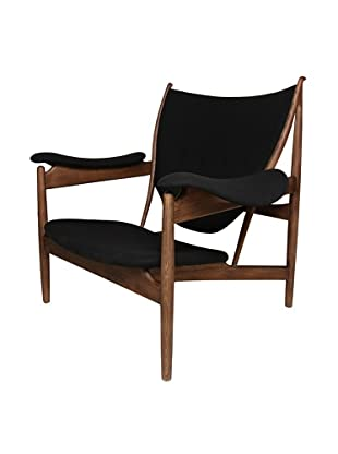 Stilnovo The Sterling Lounge Chair, Black