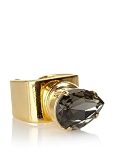 Lionette Designs by Noa Sade Black Kip Cocktail Ring