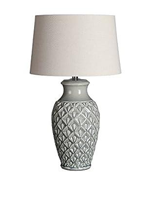 Romantic Style Lámpara De Mesa Gris