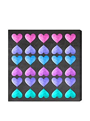 Oliver Gal Artist Co. Neon Love Game, Multi, 20