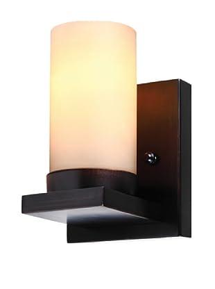 Sea Gull Lighting Ellington 1-Light Wall/Bath Sconce, Burnt Sienna