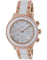 DKNY Brooklyn NY8825 White Analogue Watch - For Women