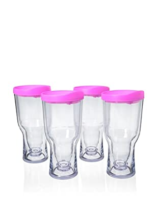 AdNArt Set of 4 Brew to Go (Pink)