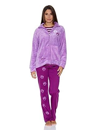 Bluedreams Pijama 3 Piezas (Violeta)