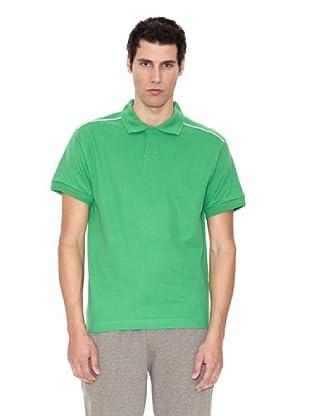 Slazenger Polo Backhand (Verde / Blanco)