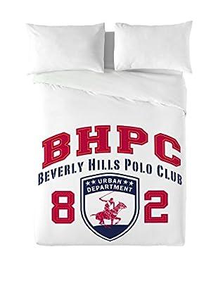 Beverly Hills Polo Club Bettdecke und Kissenbezug Logo