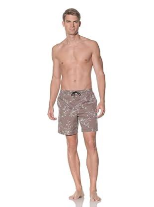 Rhythm Men's Floral Box Jam Swim Short