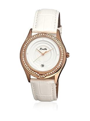 Bertha Uhr mit Japanischem Quarzuhrwerk Patricia weiß 40 mm