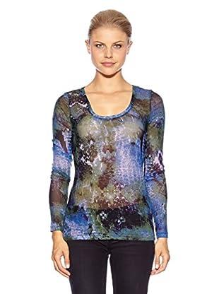 Anna Scott Camiseta Regina (Azul)