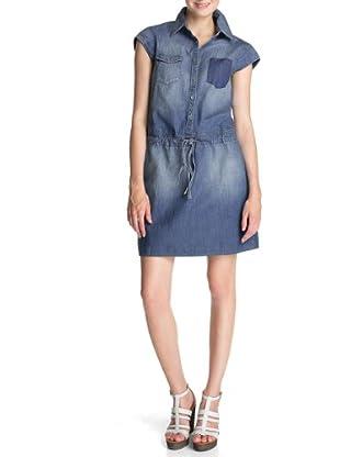 ESPRIT Vestido Margareth (Azul)