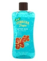 Hawaiian Tropic After Sun Cooling Gel 16 oz. Cool Aloe (3-Pack) with Free Nail File