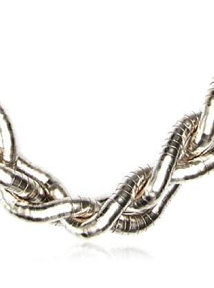 Sándalo Collar Metal (Plata / Bronce)