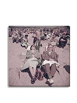 Photos.Com By Getty Images Relaxing On Southend Beach By Bert Hardy/Picture Post On Canvas