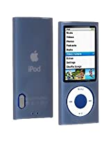 Amzer 86065 Silicone Skin Jelly Case - Grey for iPod Nano 5th Gen