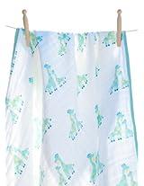 Angel Dear Soft Muslin Cotton Baby Napping Blankets (boy Giraffe)