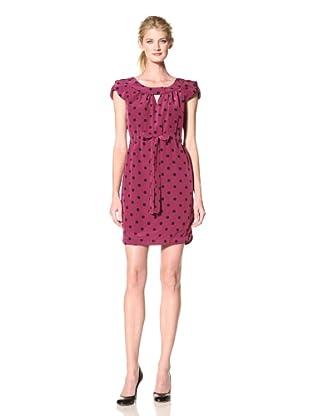 Yoana Baraschi Women's Cap Sleeve Dress (Ultra Berry)