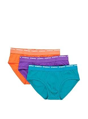 Springfield 3er Pack Slips (Mehrfarbig)