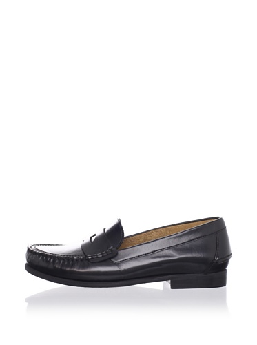 Ben Sherman Men's Windsor Saddle Loafer (Black)