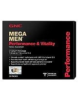GNC Mega Men Performance and Vitality - 30 Packs