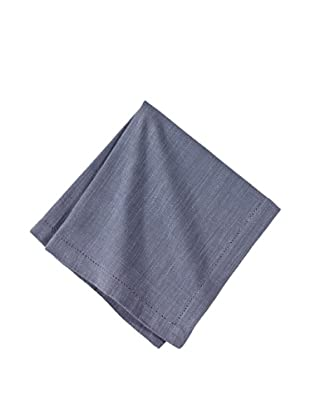 Couleur Nature Set of 6 Hemstitch Napkins (Paris Grey)