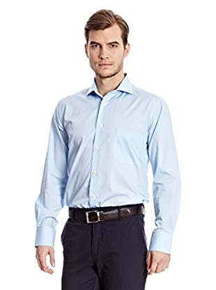 Sacoor Brothers Camisa Hombre Turquoise