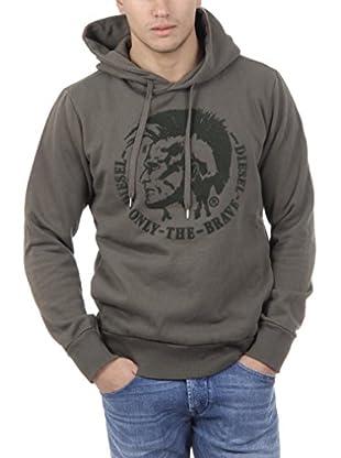 Diesel Kapuzensweatshirt Scentyn-S Brus