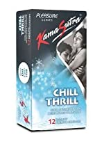 Kamasutra Chill Thrill - 12 Condoms (Pack of 3)