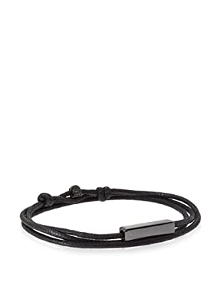 Griffin Black Gunmetal Stillwell Convertible Triple Wrap Bracelet