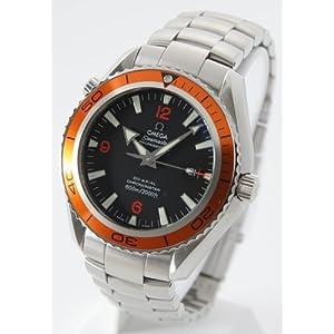 【クリックでお店のこの商品のページへ】[オメガ]OMEGA 腕時計 シーマスター プラネットオーシャン 45mm コーアクシャル クロノメーター ブラック オレンジベゼル ラージ 2208.50 メンズ [並行輸入品]