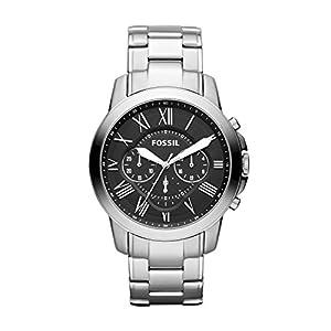 Fossil Chronograph Black Dial Men's Watch - FS4736