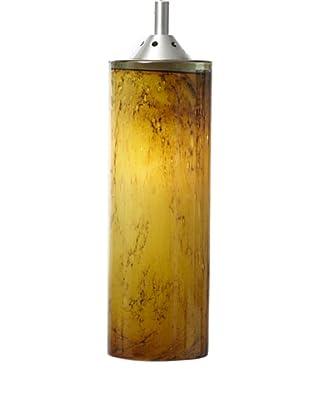 Arttex Cylinder Pendant, Gold