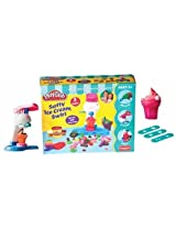 Play Doh Softy Ice Cream Swirl, Multi Color
