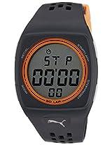 Puma Digital Grey Dial Unisex Watch - PU910991004