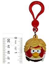 "Luke Skywalker Bird ~1.5"" Backpack Clip: Angry Birds Star Wars Hangers Collection (Loose Figure Backpack Clip)"